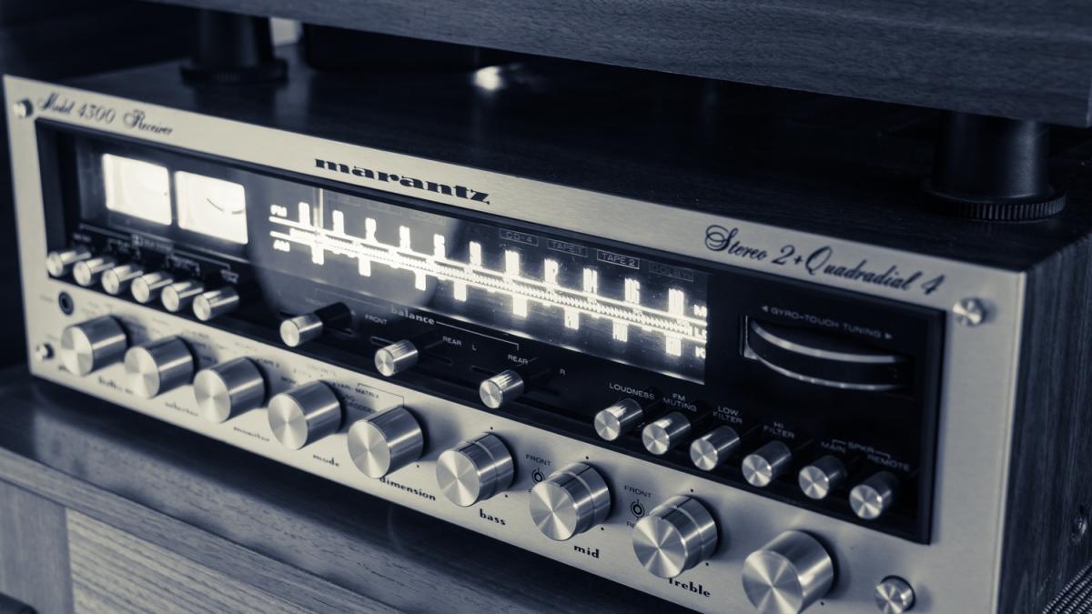 Modernizing A Classic Marantz 4300 Receiver Crl Audio Soltuions Amplifier Basics Modern Stereo System Has Two